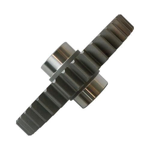 Engrenagem com pinhão da caixa corte base